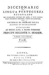 Diccionario de lingua portuguesa,