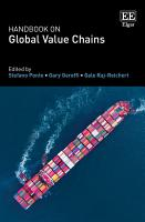 Handbook on Global Value Chains PDF