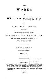 The Works of William Paley: Charges and sermons