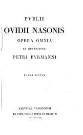 Publii Ovidii Nasonis Opera omnia: Volume 6