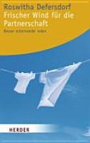 Frischer Wind f  r die Partnerschaft PDF