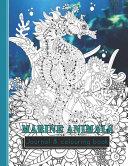 Marine Animals Journal & Colouring Book