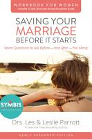 Saving Your Marriage Before It Starts Workbook for Women Updated PDF
