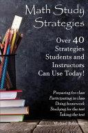 Math Study Strategies PDF