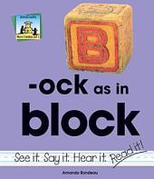 ock as in block
