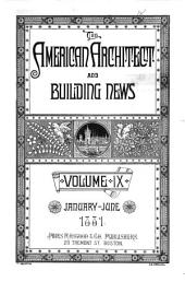 American Architect and Building News: 1881, Volume 9