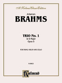 Piano Trio No. 1 in B Major, Op. 8