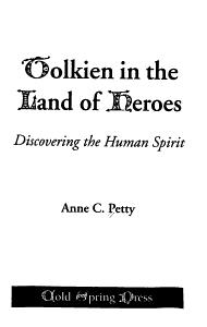 Tolkien in the Land of Heroes PDF