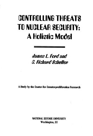 Controlling Threats to Nuclear Security