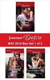 Harlequin Desire May 2019 - Box Set 1 of 2: An Anthology
