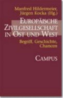 Europ  ische Zivilgesellschaft in Ost und West PDF