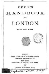 Cook's handbook for [afterw. to] London: Volume 3