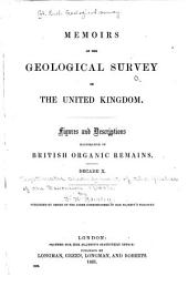 Figures and descriptions illustrative of British organic remains: Volume 10
