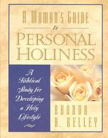 A Woman s Guide to Personal Holiness PDF
