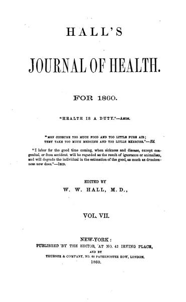 Download Hall s Journal of Health Book