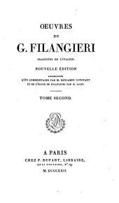Oeuvres de G. Filangieri: Volume2
