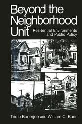 Beyond the Neighborhood Unit PDF