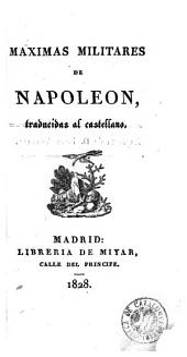 Maximas militares de Napoleon