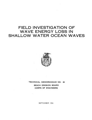 Technical Memorandum   Beach Erosion Board PDF