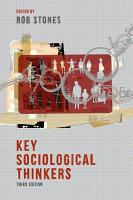 Key Sociological Thinkers PDF