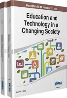 Handbook of Research on Education and Technology in a Changing Society PDF