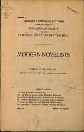 Modern Novelists