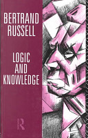 Logic and Knowledge PDF