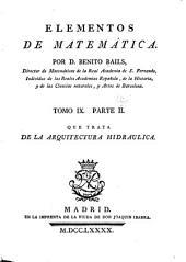 Elementos de matemática: Volumen 9