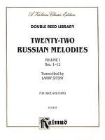 Twenty-two Russian Melodies, Volume 1, Nos. 1-12