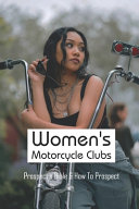 Women's Motorcycle Clubs