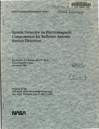 System Overview on Electromagnetic Compensation for Reflector Antenna Surface Distortion