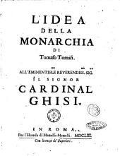L'idea della monarchia di Tomaso Tomasi. ..