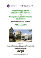 ICMLG2013 Proceedings of the International Conference on Management  Leadership and Governance PDF