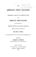 The American Chess Magazine PDF