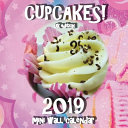 Cupcakes! 2019 Mini Wall Calendar (UK Edition)