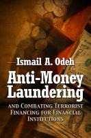 Anti Money Laundering and Combating Terrorist Financing for Financial Institutions PDF