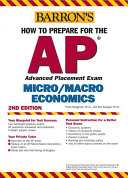 How to Prepare for the AP Microeconomics Macroeconomics Book