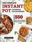 The Complete Instant Pot Cookbook For Beginners Book PDF