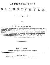 Astronomische Nachrichten: Volumes 11-13