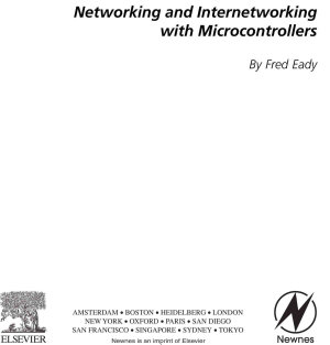 Networking and Internetworking with Microcontrollers PDF