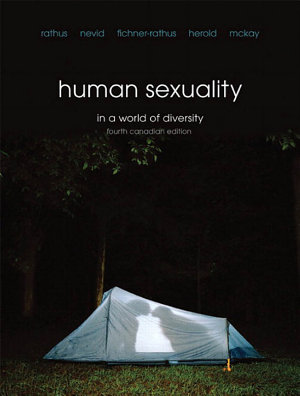 Human Sexuality in a World of Diversity  Fourth Canadian Edition