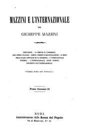 Mazzini e l'Internazionale