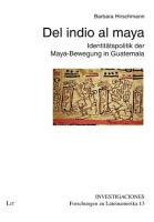 Del indio al maya PDF