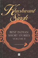 Khushwant Singh Selects Best Indian Short Stories PDF