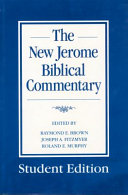 New Jerome Biblical Commentary PDF