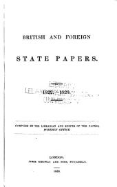 British and Foreign State Papers: Volume 10