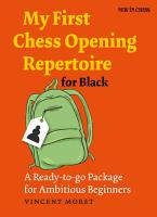 My First Chess Opening Repertoire for Black PDF