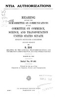 National Science Foundation authorization PDF
