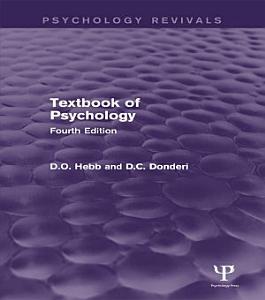 Textbook of Psychology  Psychology Revivals  PDF