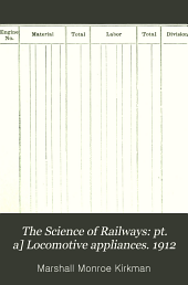 The Science of Railways: The locomotive. 1913